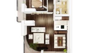 Апартамент 138м2 вЧерногории— Ducley Gardens